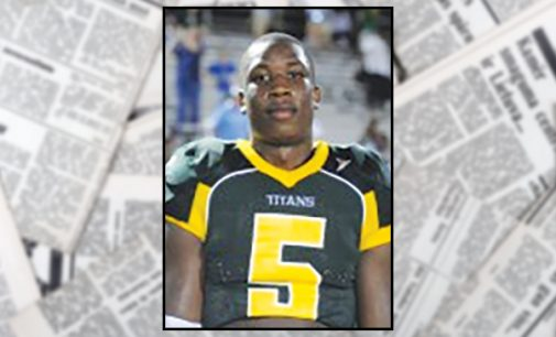 Local football player named 17th in the nation