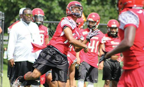 The Rams open first week of fall practice