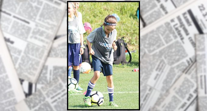 Triad girls learn soccer skills from Women's World Cup and Olympic champions