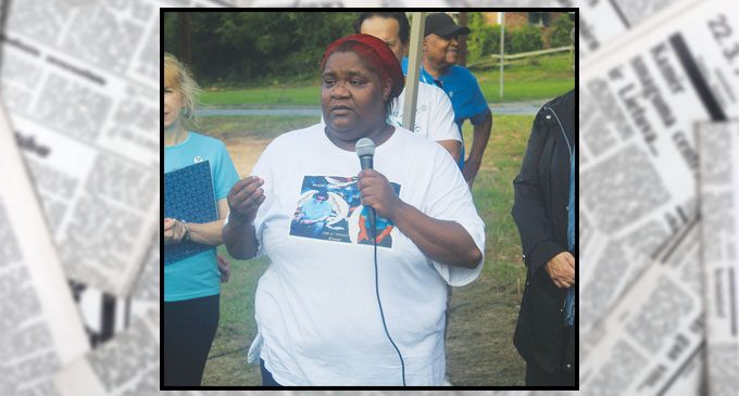 Those at vigil remember Kendrick Smith, a victim of fatal shooting