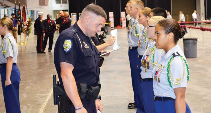 9/11 competition unites JROTC cadets and first responders