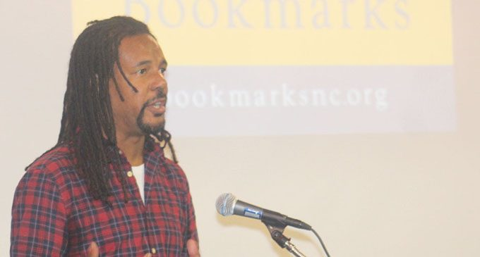 Black authors draw large crowd during Bookmarks Festival