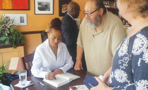 McMillan gives festival goers taste of new novel in W-S