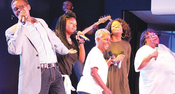 Local church worships with community, helps the less fortunate