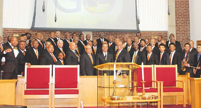 Men's Day turns into reunion at St. Paul