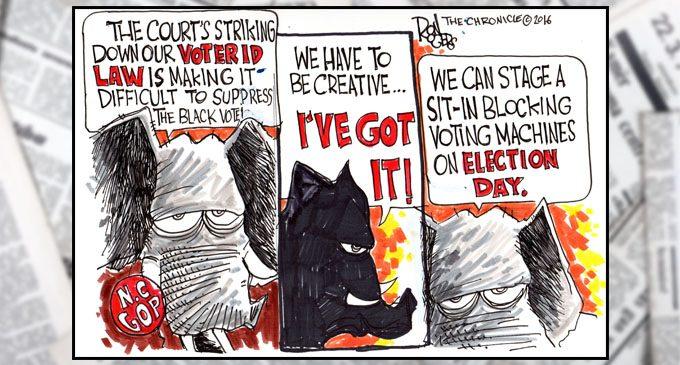 Political Cartoon: GOP get creative