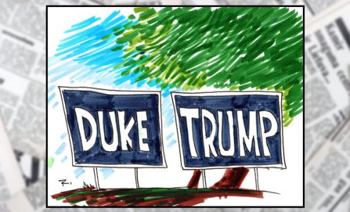 Commentary: Trump's outreach to African-Americans mimics David Duke's