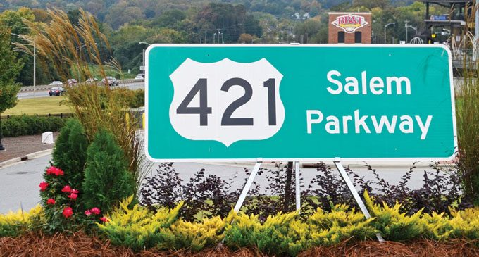 Business 40 to become Salem Parkway