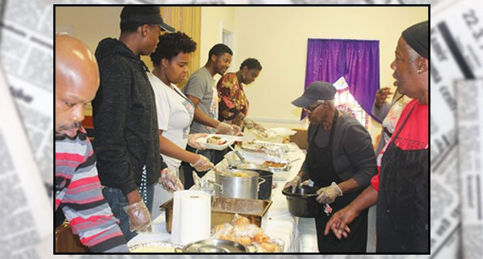 St. Mark Baptist feeds the sick and shut in on Thanksgiving