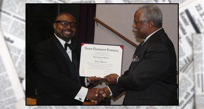 Pastor celebrates doctoral degree