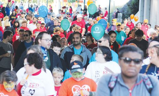 Heart and Stroke walk raises funds for research