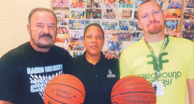 Hanes Hosiery begins Winter Basketball Registration