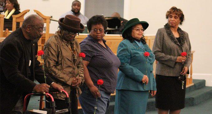 Local church honors veterans and former ushers at program