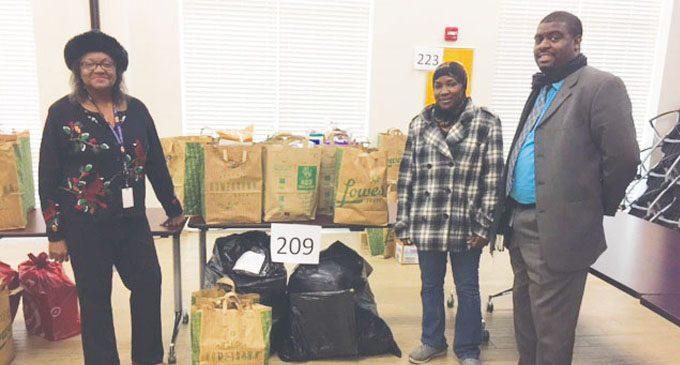 Community adopts ESR families for Christmas