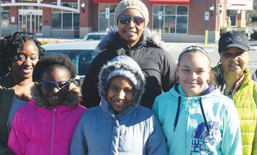 Church Girl Scout troop gives to women's shelter for kids