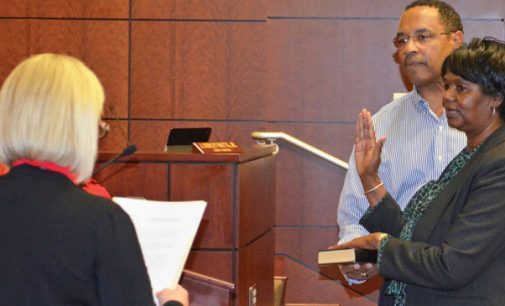 Officials sworn in as commissioners reflect on 2016 and look toward new year