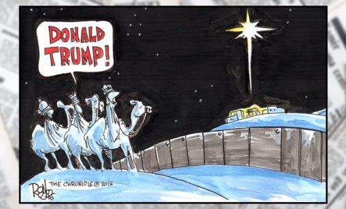 Editorial Cartoon: Donald Trump!