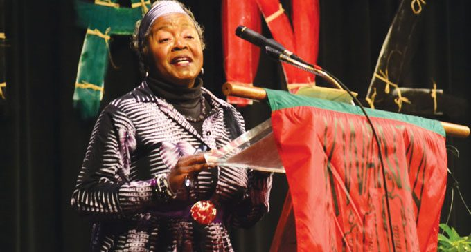 Ingram honored for her creativity during Kwanzaa celebration