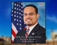 U.S. Rep. Keith Ellison named Keynote Speaker at 2017 Chronicle MLK Day Breakfast Forum