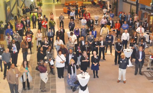 Business mixer draws large crowd