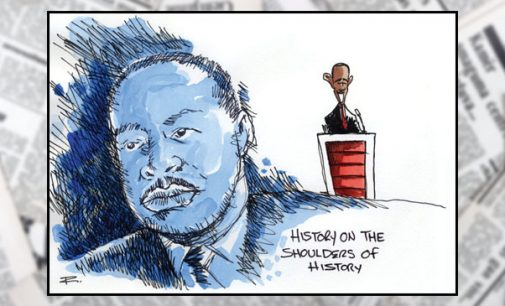 Editorial:Obama legacy builds on MLK's dream