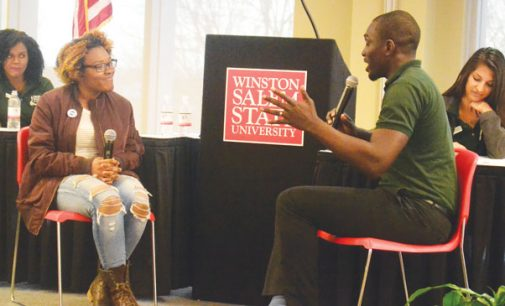 Group of physicians stop at WSSU to inspire future doctors