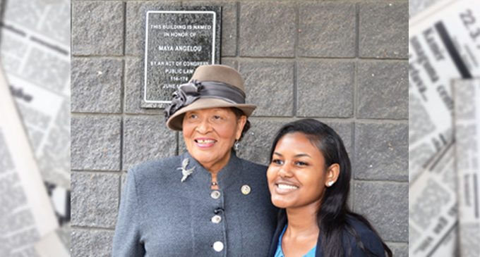 Downtown post office named after Angelou