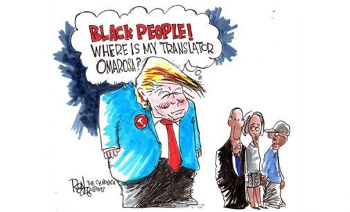 Editorial Cartoon: Where is Omarosa?