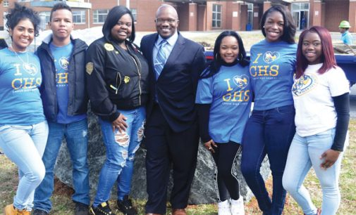 Carver High receives spirit rocks for posterity