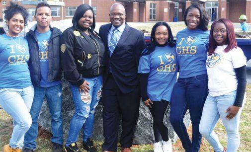 Carver High receives spirit rocks for posterity
