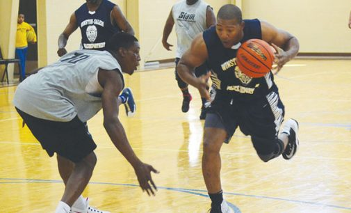 Police take on Slam Basketball Academy