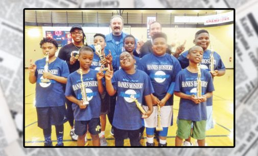 Hanes Hosiery winter league crowns champion in 6-10 age group