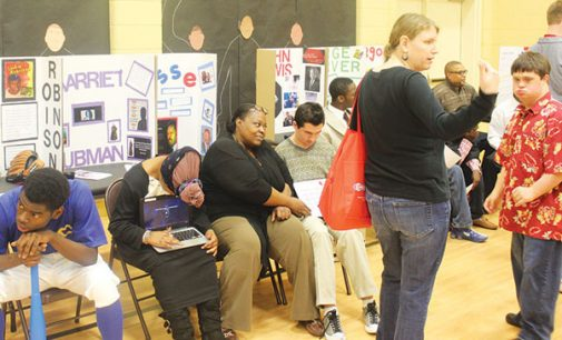 Carter holds second Living Wax Museum