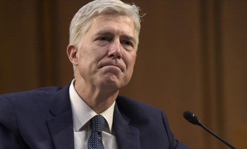 Justice Gorsuch expected to oppose N.C. voting rights