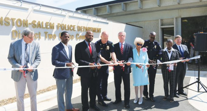 First police substation linked to bonds opens
