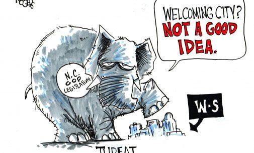 Political Cartoon: Bad Idea?