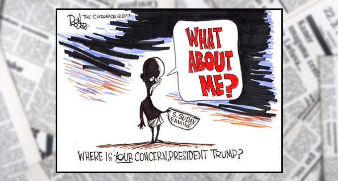 Political Cartoon: What about me?