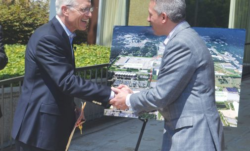 Reynolds finalizes donation of Whitaker Park