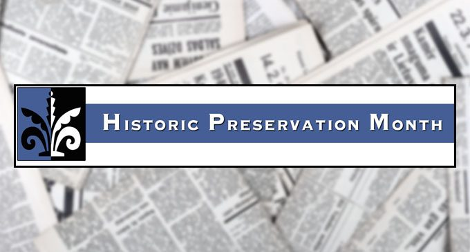 Historic marker and tours highlight month
