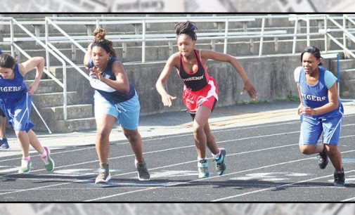 Area middle schools spring into track season