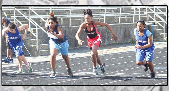 Area middle schools spring into track season