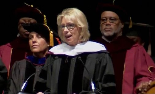 Commentary: Why I'm proud of the B-CU grads that protested Betsy 'Devoid'