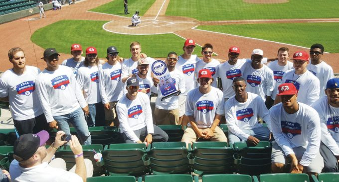 Dash honors the WSSU Rams baseball team