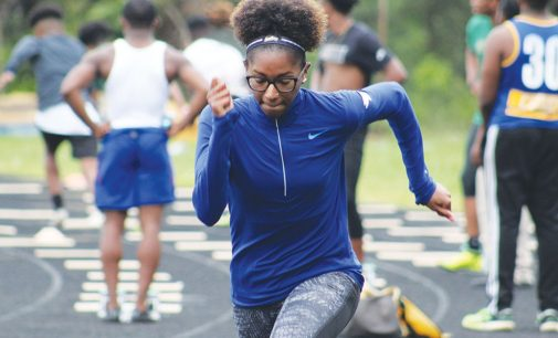 High school boasts three track athletes with full ride to college
