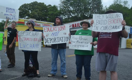 Locals join 'Day Without Immigrants' movement