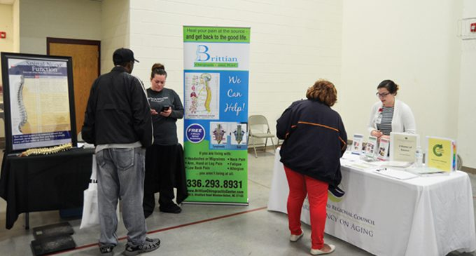 Salvation Army Senior Center holds health fair