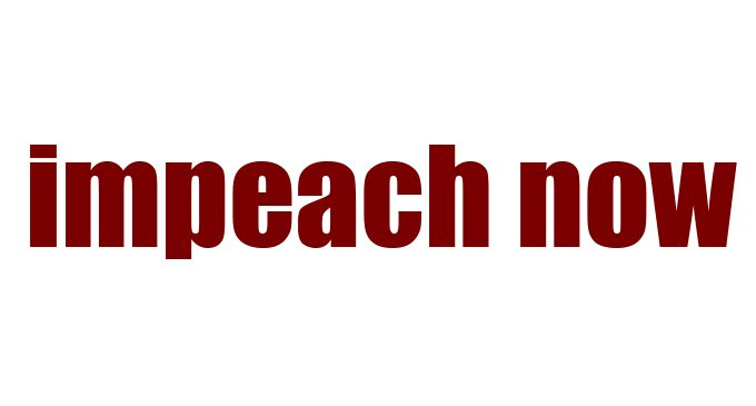 Commentary: Impeachment (and removal): Good for public health