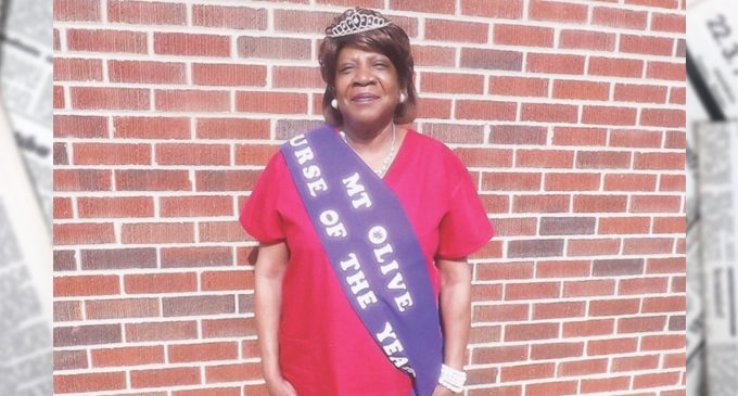 Mt. Olive names Nurse of the Year