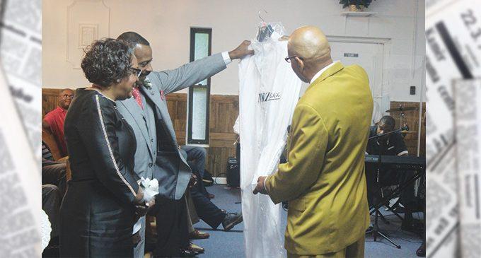 Pastor celebrates first pastoral anniversary