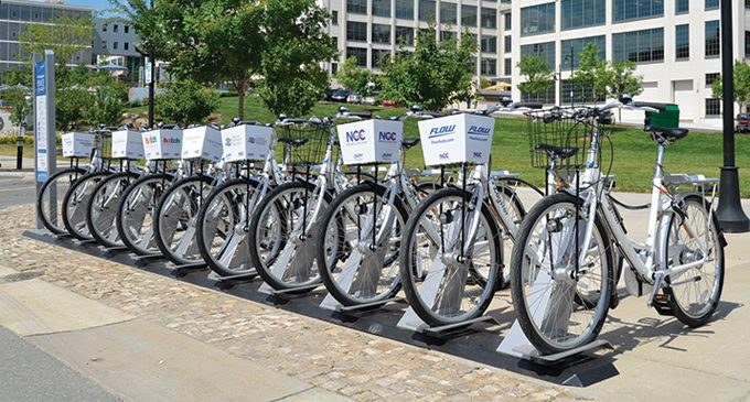 Bicycle rental program comes to W-S